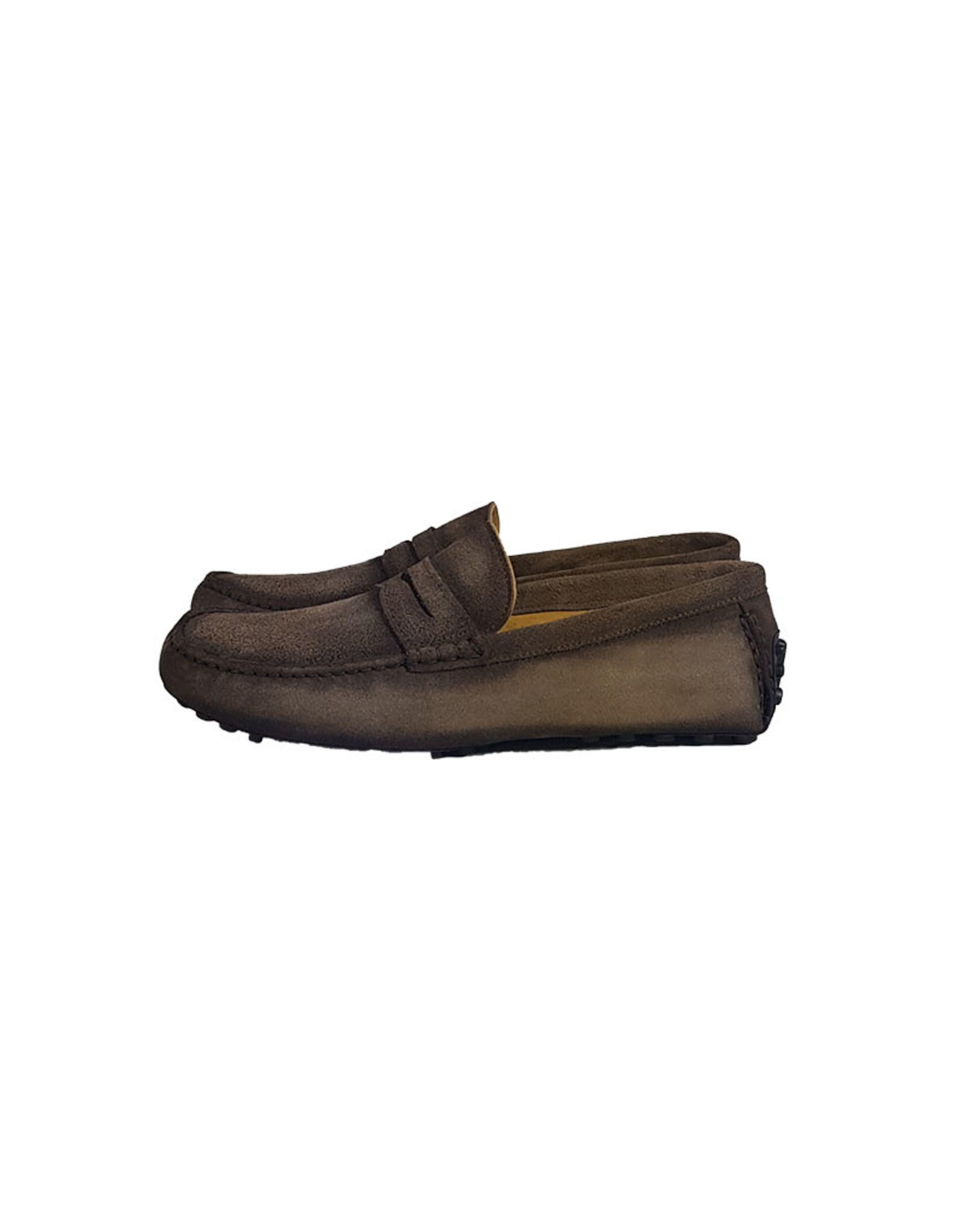 Zampiere Zampiere schoenen mocassins bruin Circe Tobaco M:5390 V18