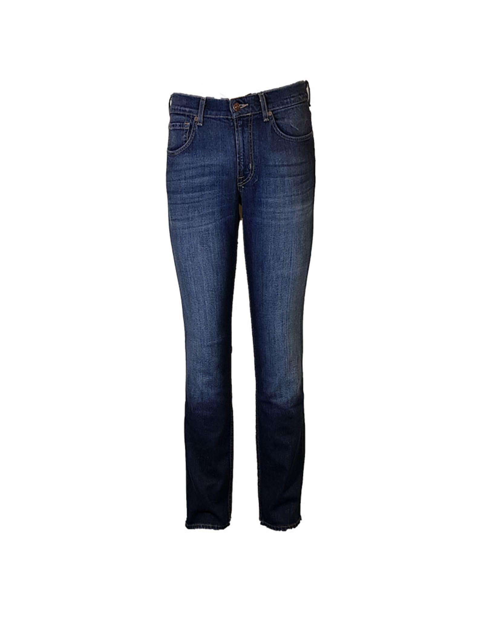 7 For All Mankind 7FAM jeans blauw slimmy SMSR450MW