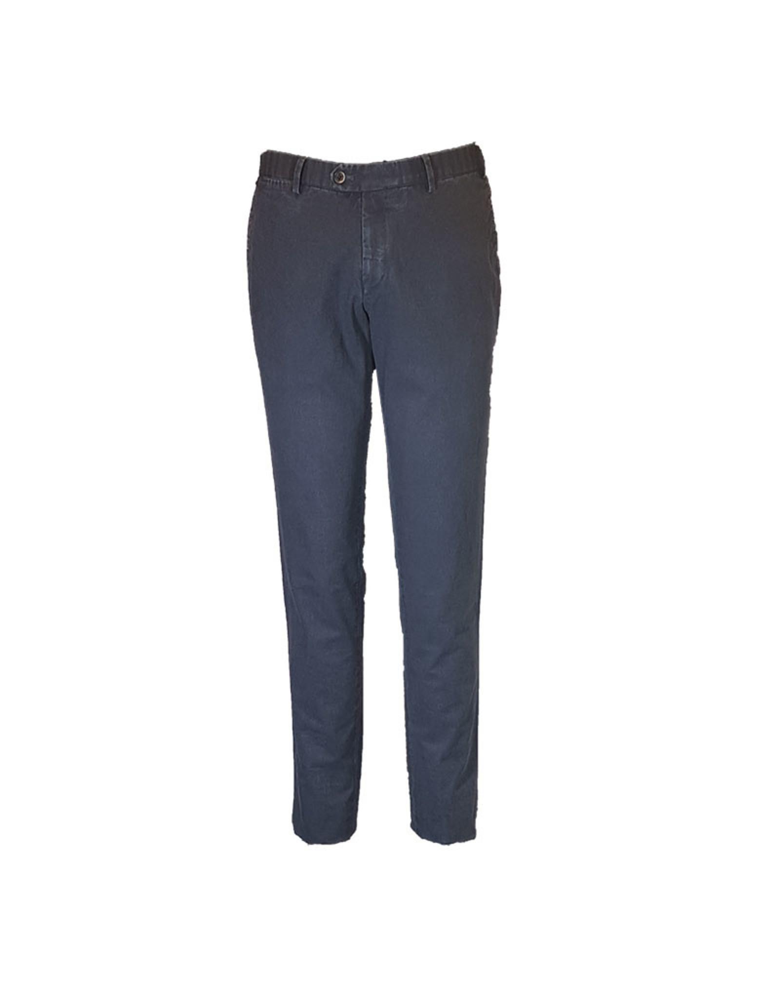Hiltl Hiltl broek katoen blauw Tian 73017/41