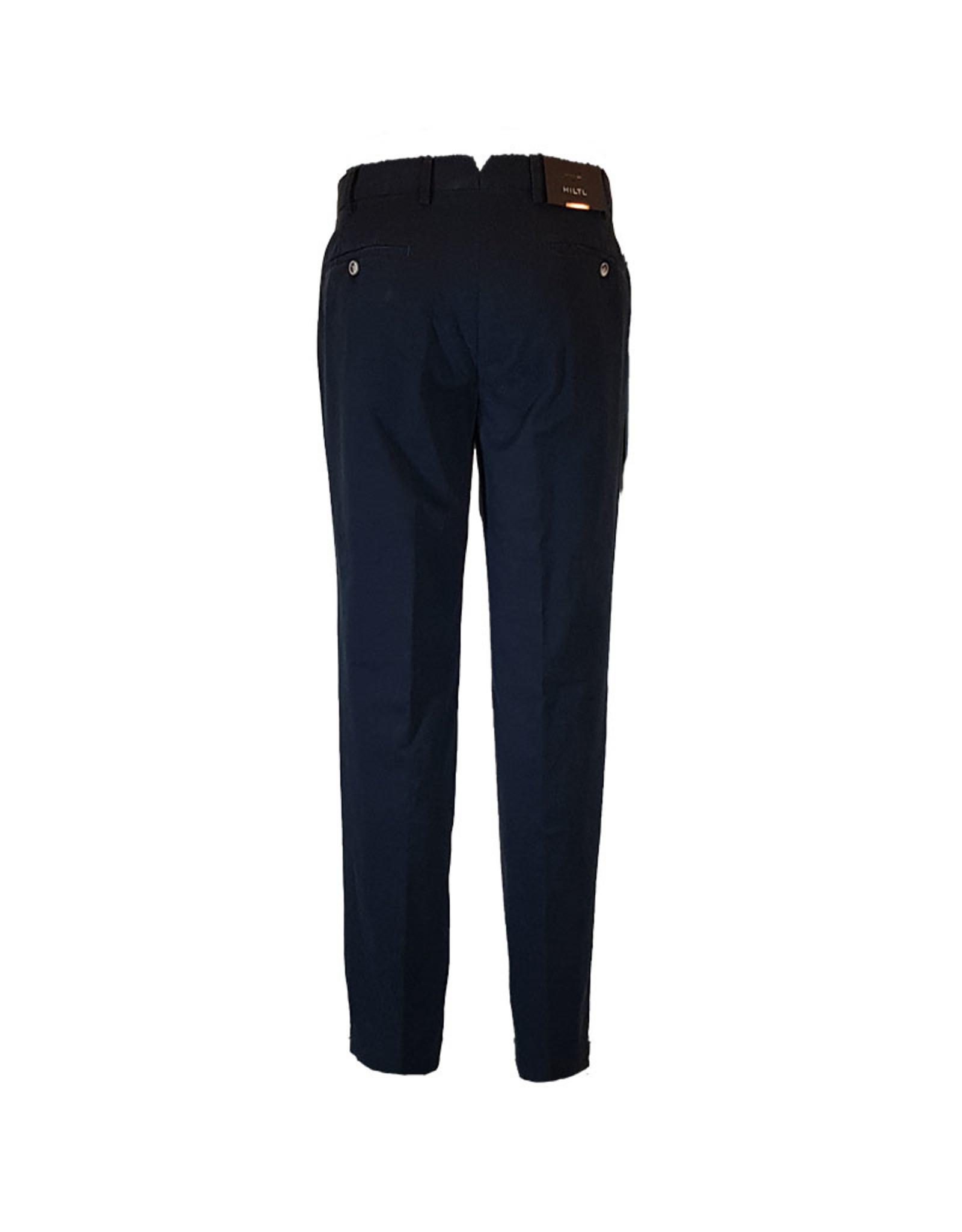 Hiltl Hiltl broek katoen blauw Palermo 75882/40