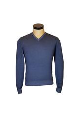 Gran Sasso Sandmore's Pull V-hals blauw  22792/706 M:55115