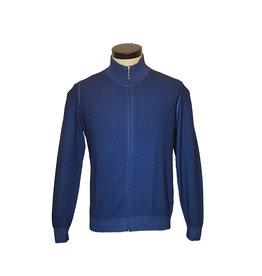 Gran Sasso Sandmore's cardigan blauw