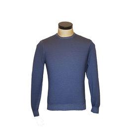 Gran Sasso Sandmore's pull O-hals blauw