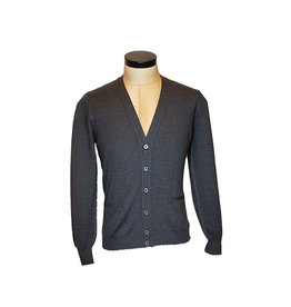 Gran Sasso Sandmore's cardigan grijs