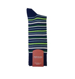 Marcoliani Marcoliani sokken groen gestreept