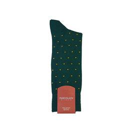 Marcoliani Marcoliani sokken groen gestipt