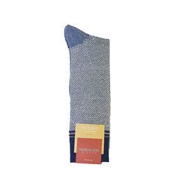 Marcoliani Marcoliani sokken lichtblauw textured