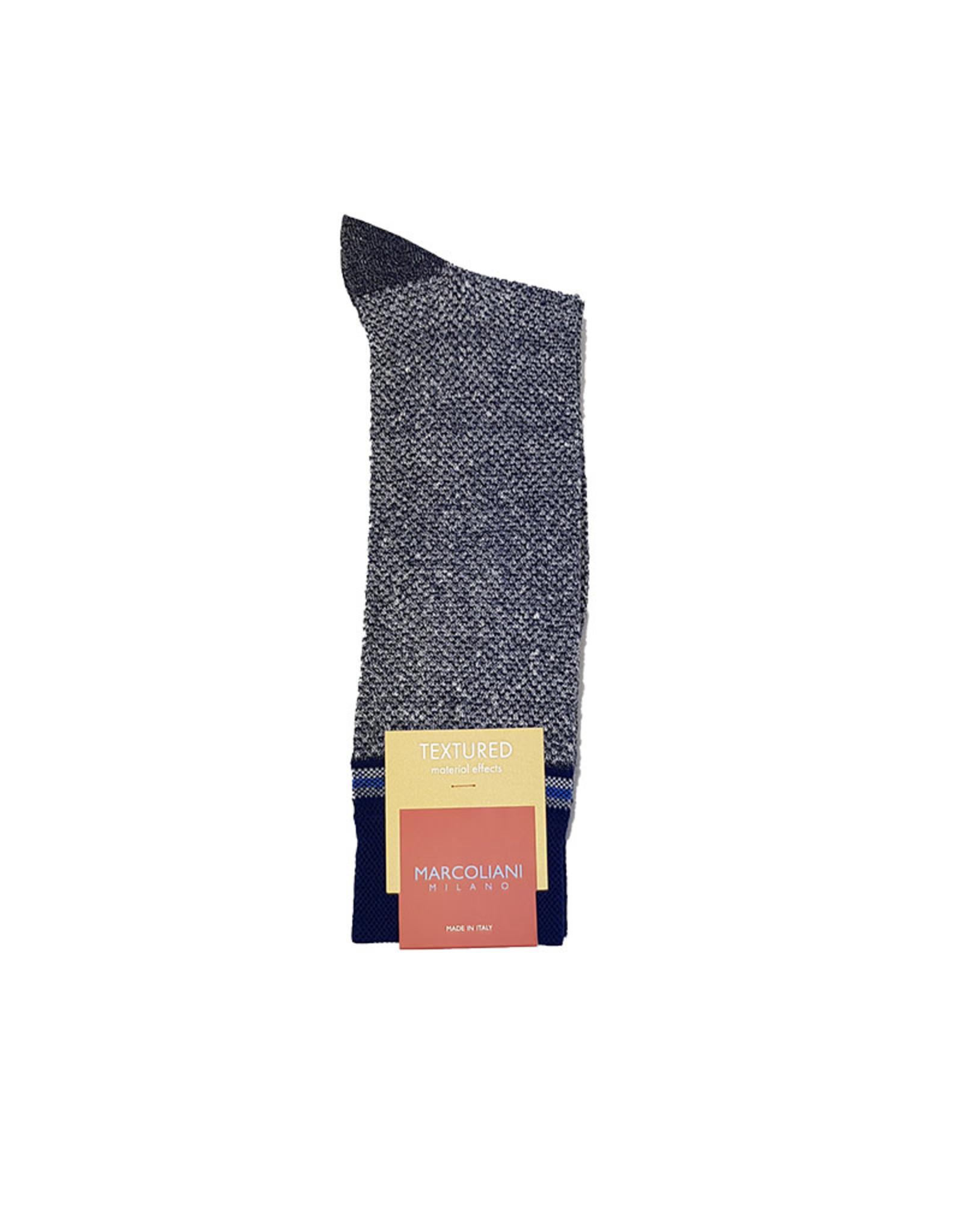 Marcoliani Marcoliani sokken blauw 4345T