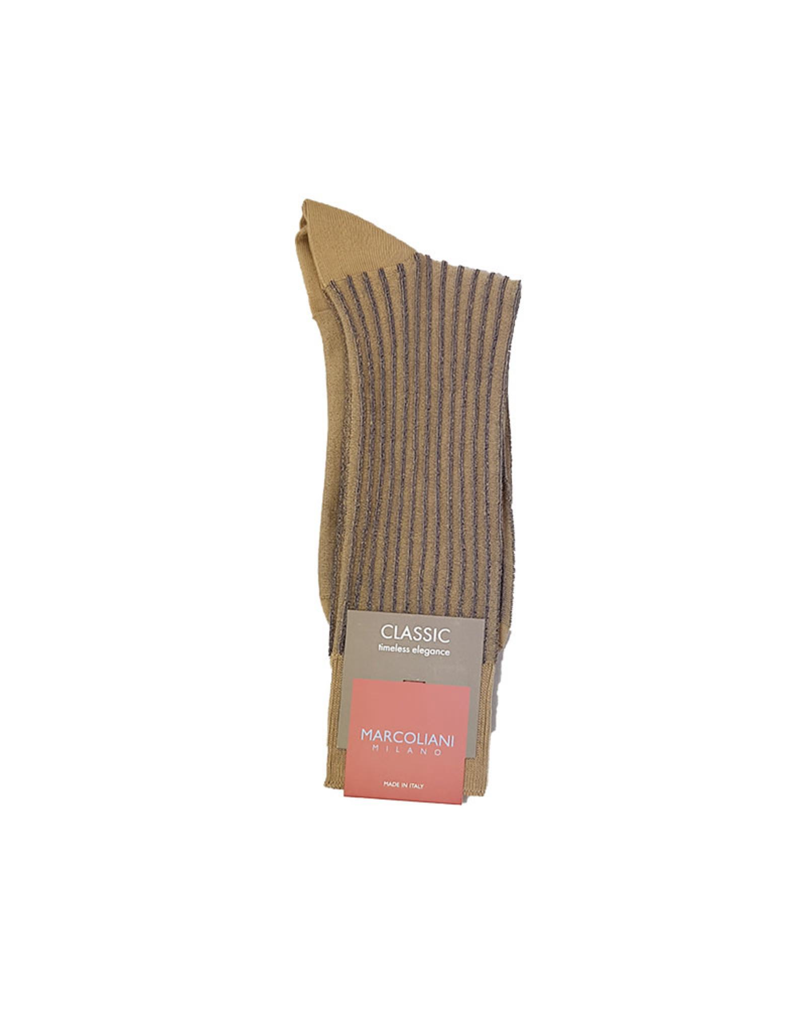 Marcoliani Marcoliani sokken khaki 4236T