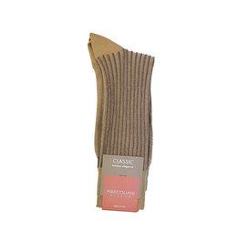 Marcoliani Marcoliani sokken khaki pinstripe