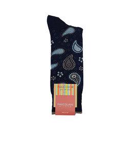 Marcoliani Marcoliani sokken blauw paisley