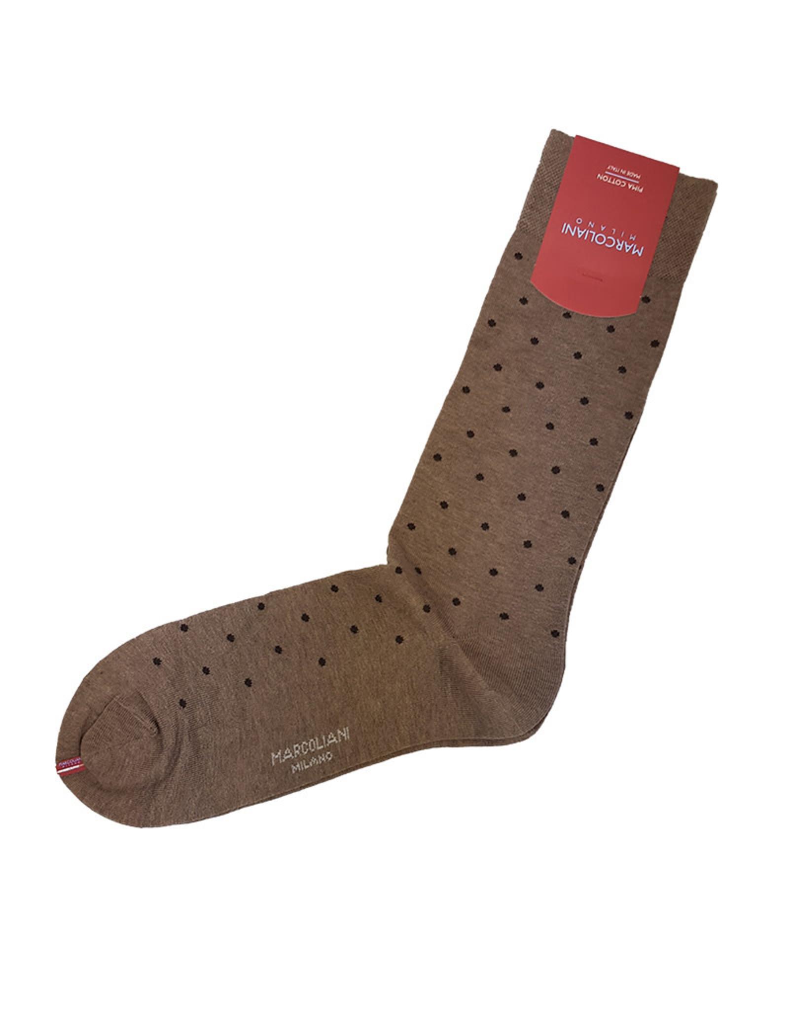 Marcoliani Marcoliani sokken beige gestipt 2776T/258