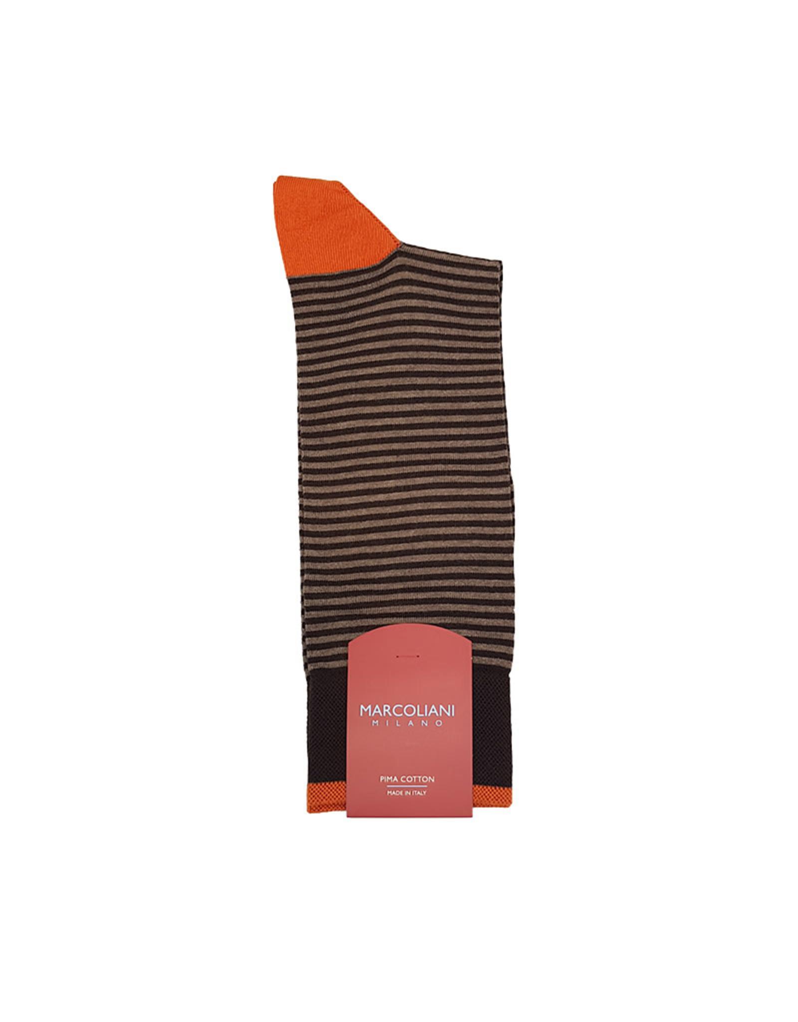 Marcoliani Marcoliani sokken bruin 3231T/258