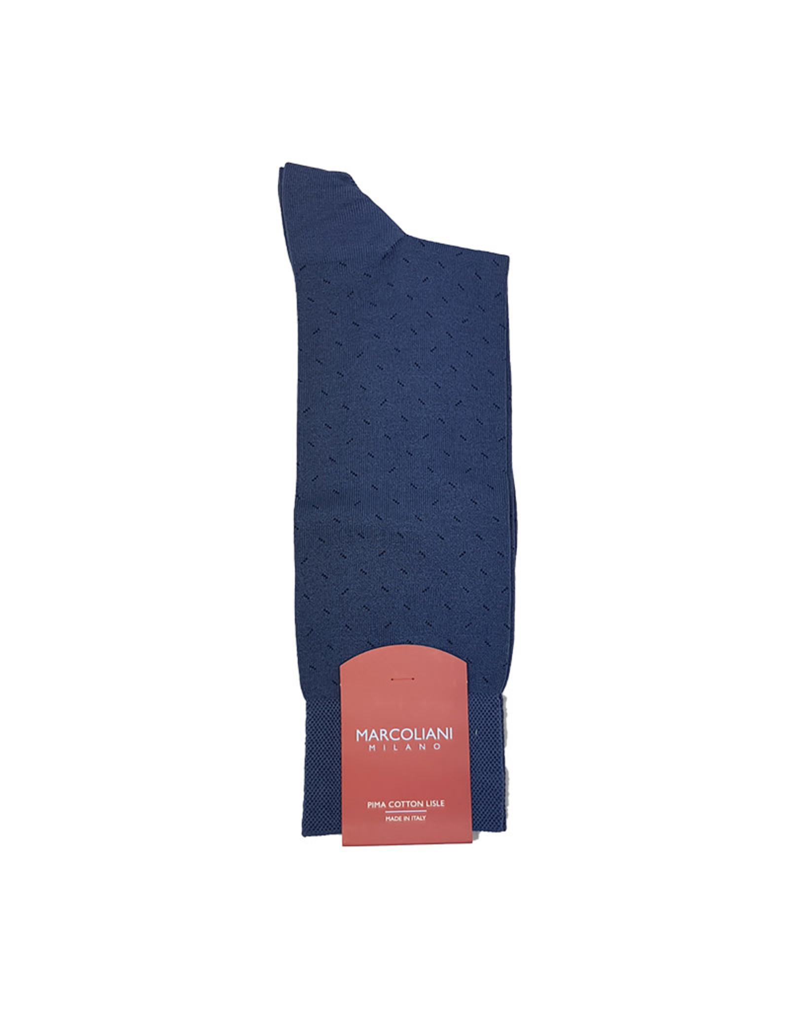 Marcoliani Marcoliani sokken blauw 4202T/012