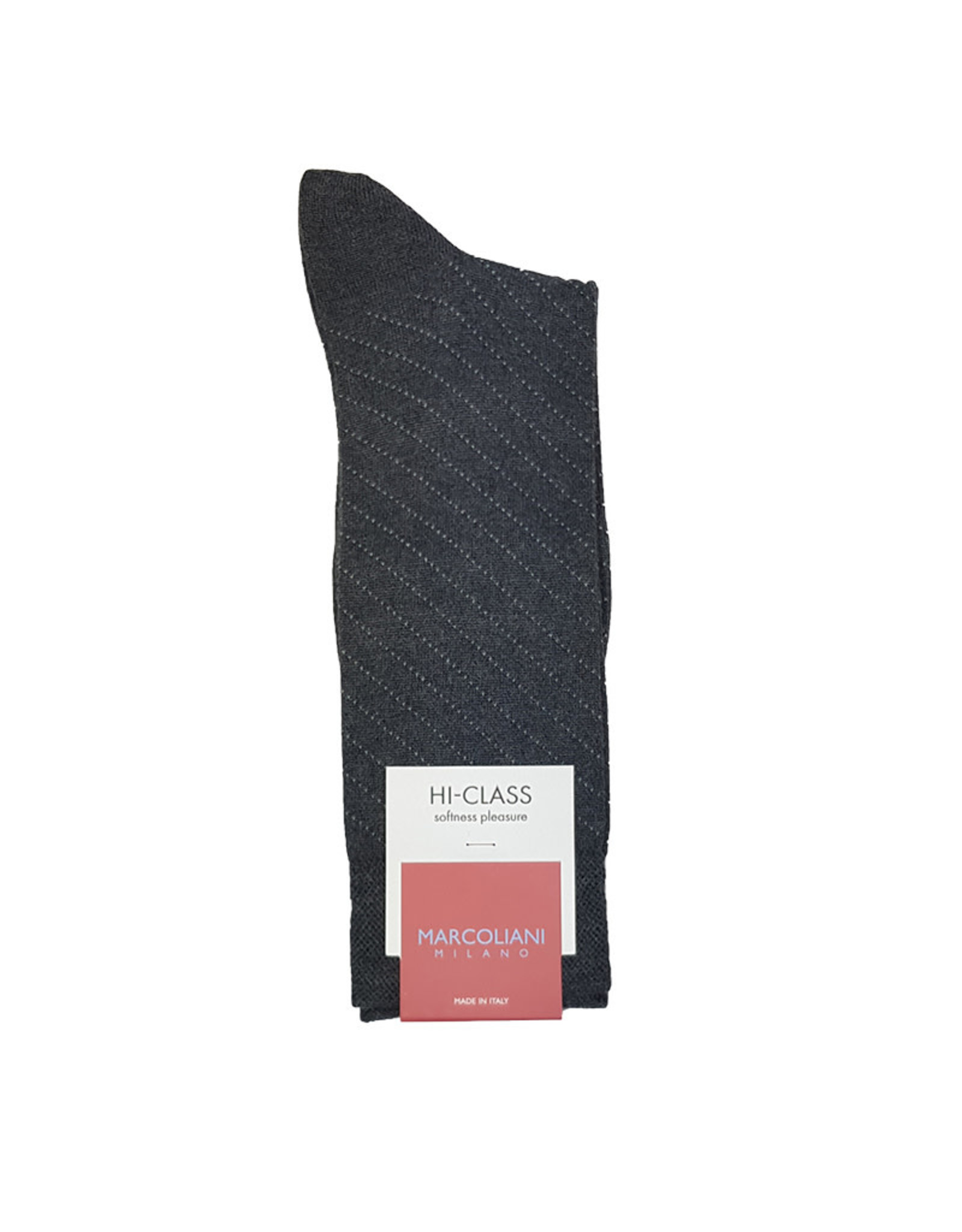 Marcoliani Marcoliani sokken grijs kasjmier 4297T