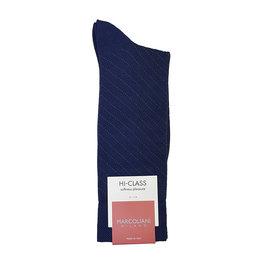 Marcoliani Marcoliani sokken blauw kasjmier
