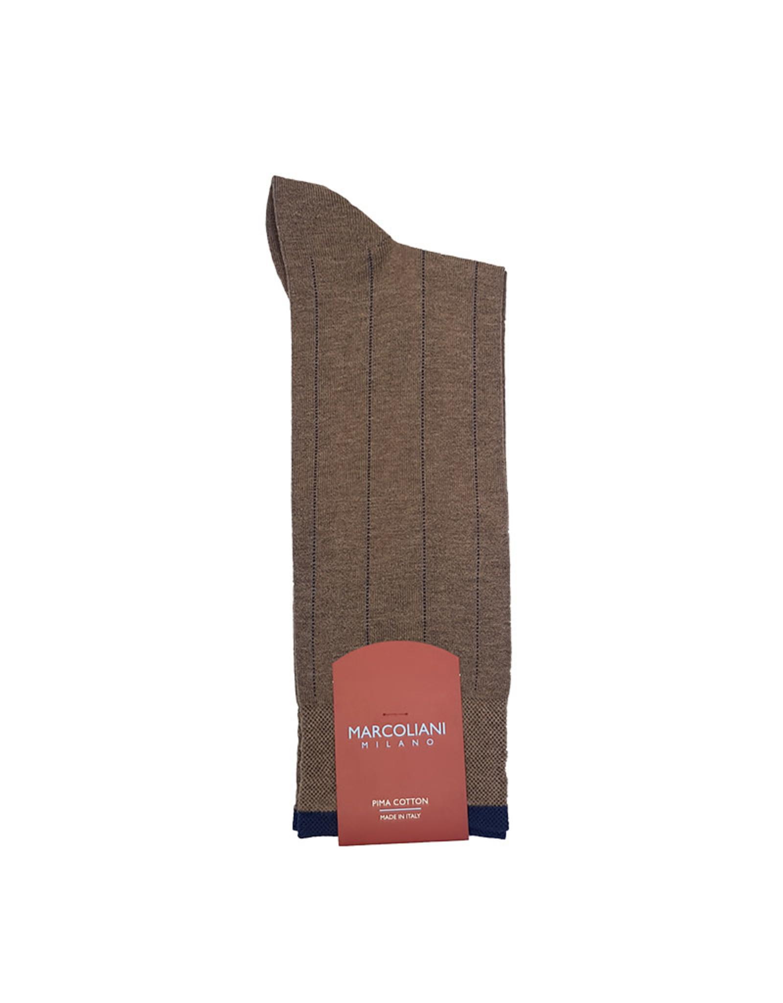 Marcoliani Marcoliani sokken cappucino katoen 4301T