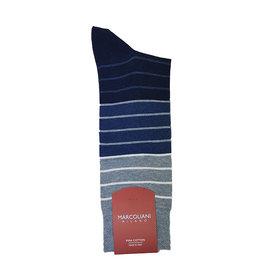 Marcoliani Marcoliani sokken blauw gestreept