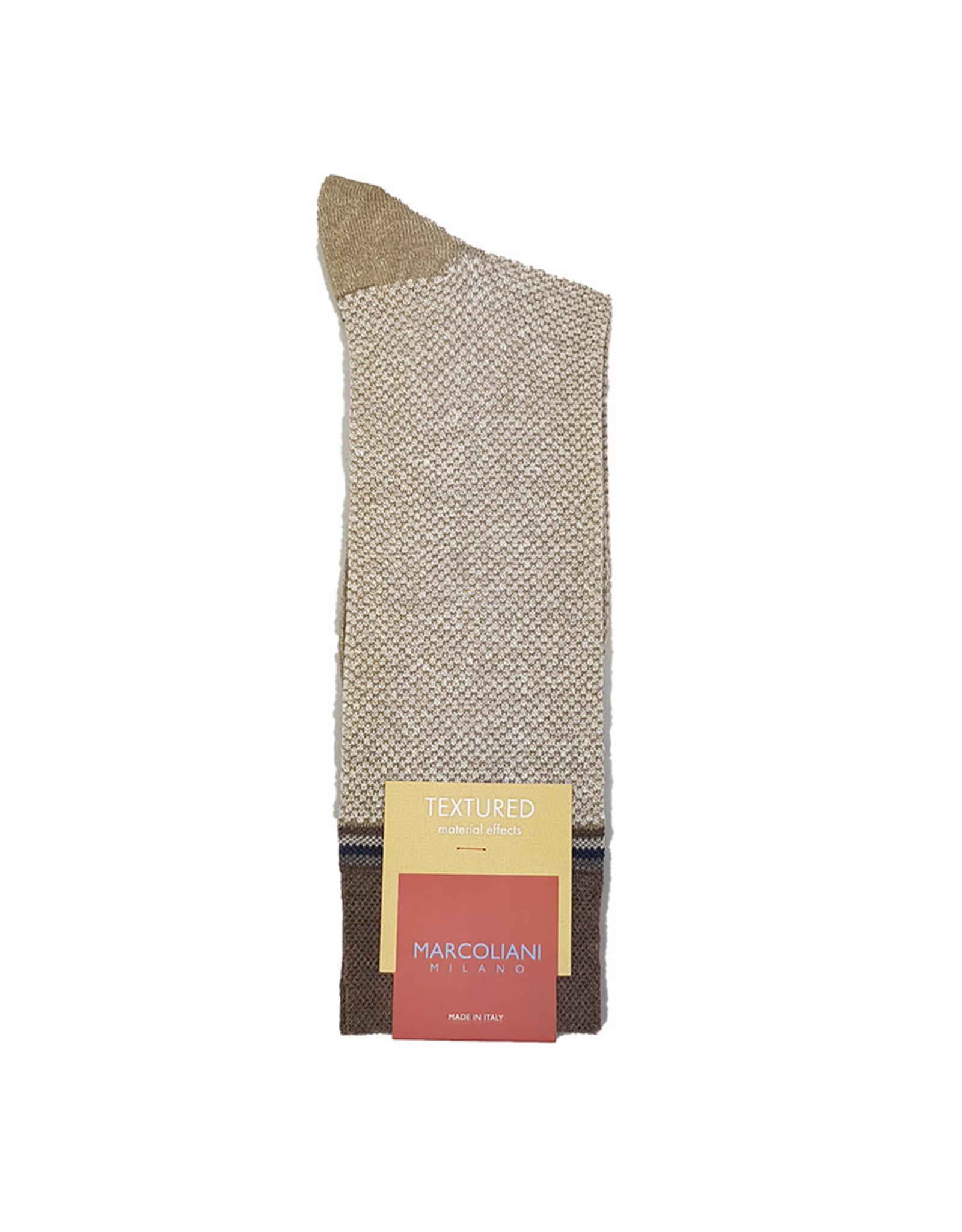 Marcoliani Marcoliani sokken beige 4345T
