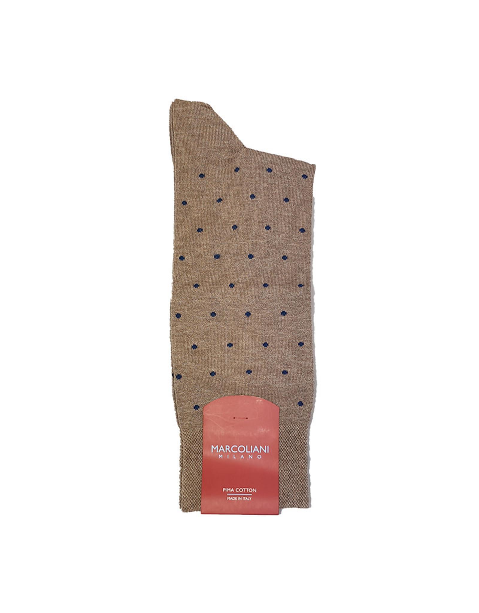Marcoliani Marcoliani sokken beige gestipt 3594T/120