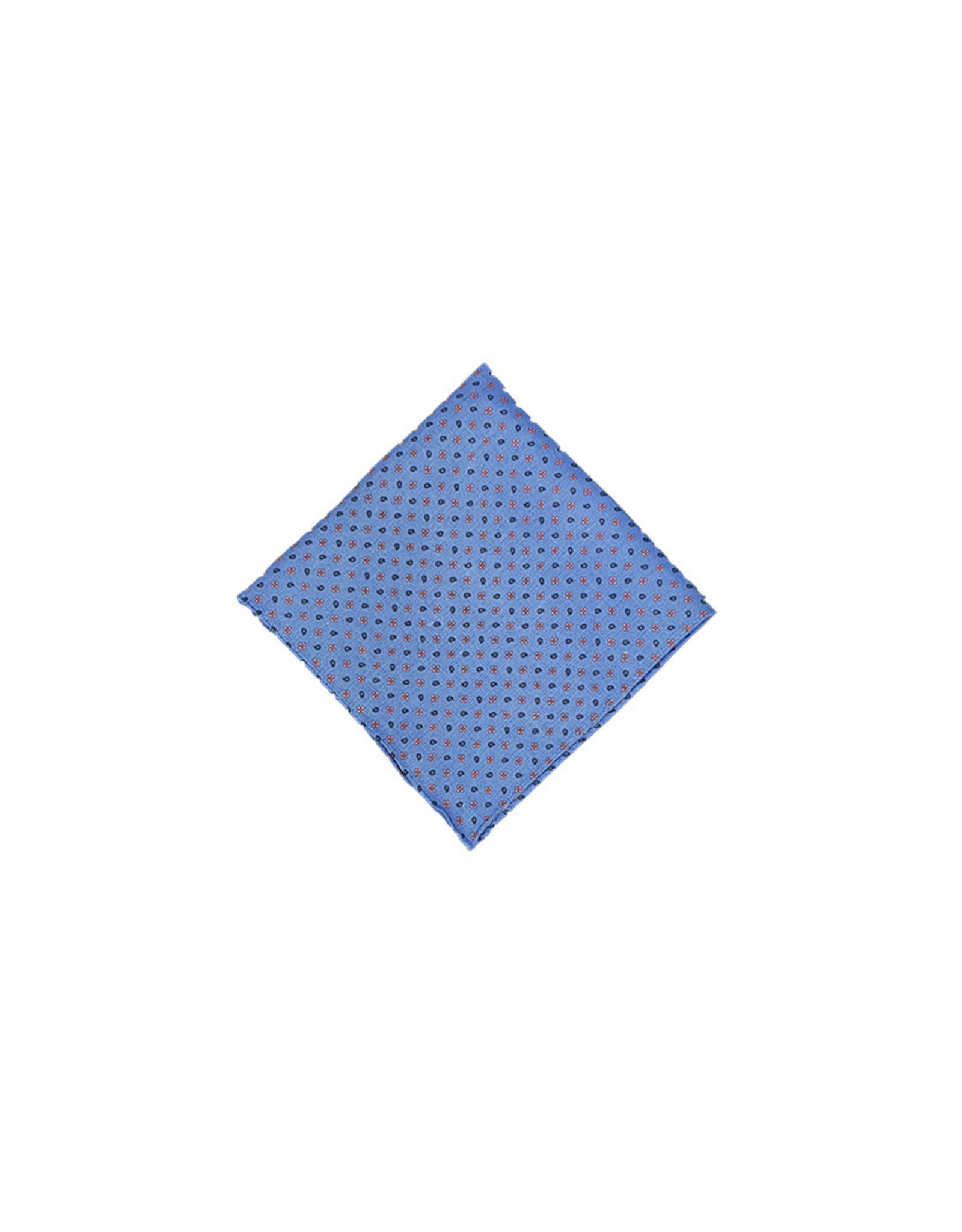 Anthime Mouley Sandmore's pochet blauw bloemetjes 7401/1