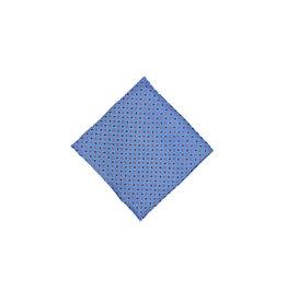 Anthime Mouley Sandmore's pochet blauw bloemetjes