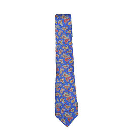 Anthime Mouley Sandmore's das blauw paisley