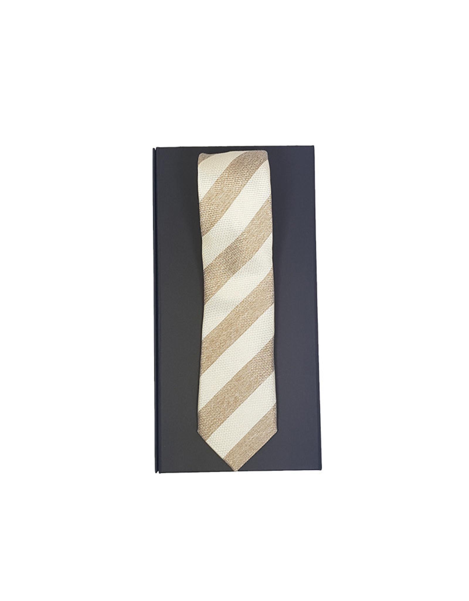 Hemley Sandmore's das beige gestreept 01297222
