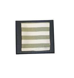 Hemley Sandmore's pochet groen gestreept