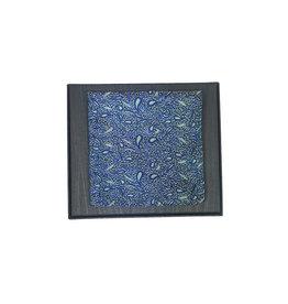 Ascot Sandmore's pochet groen-blauw paisley