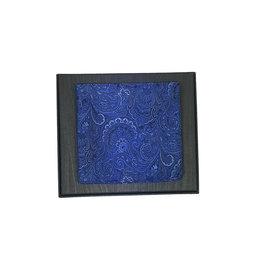 Ascot Sandmore's pochet blauw paisley