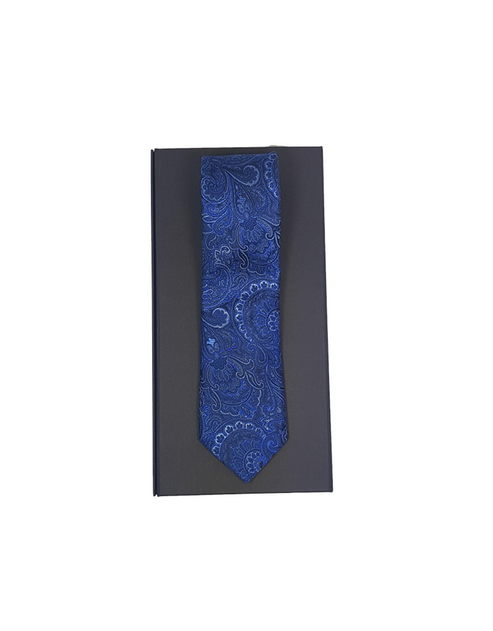 Ascot Sandmore's das blauw paisley 01192526/1