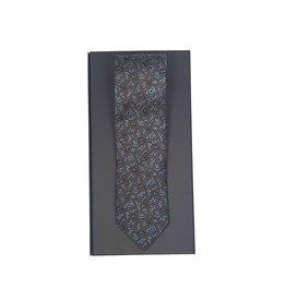 Eton Eton das bruin-blauw paisley