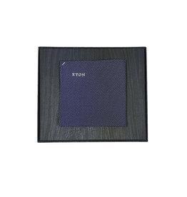 Eton Eton pochet blauw gestipt