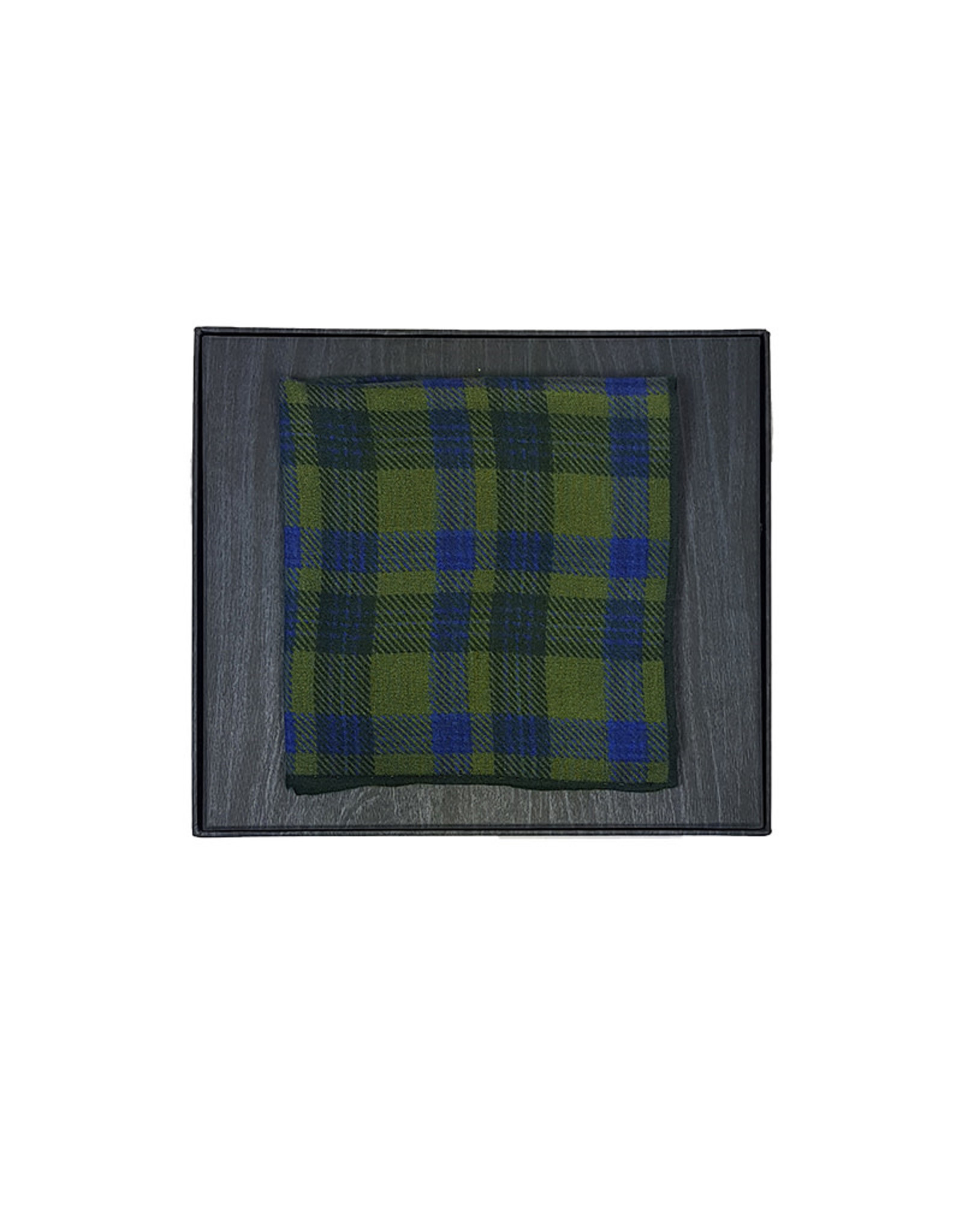 Roy Robson Roy Robson pochet groen-blauw geruit 574/2