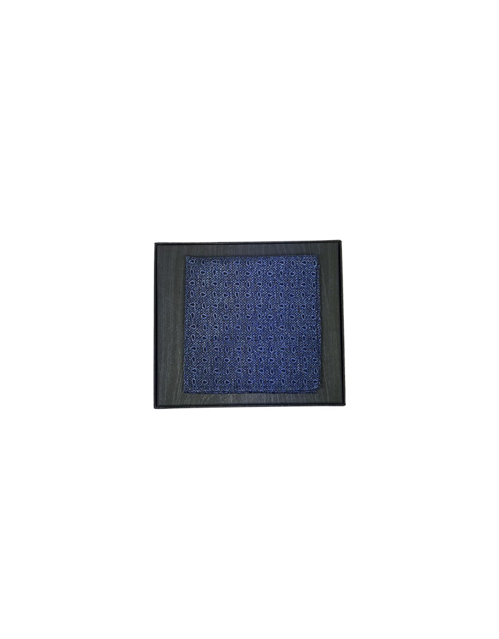 Ascot Sandmore's pochet blauw paisley 675/1