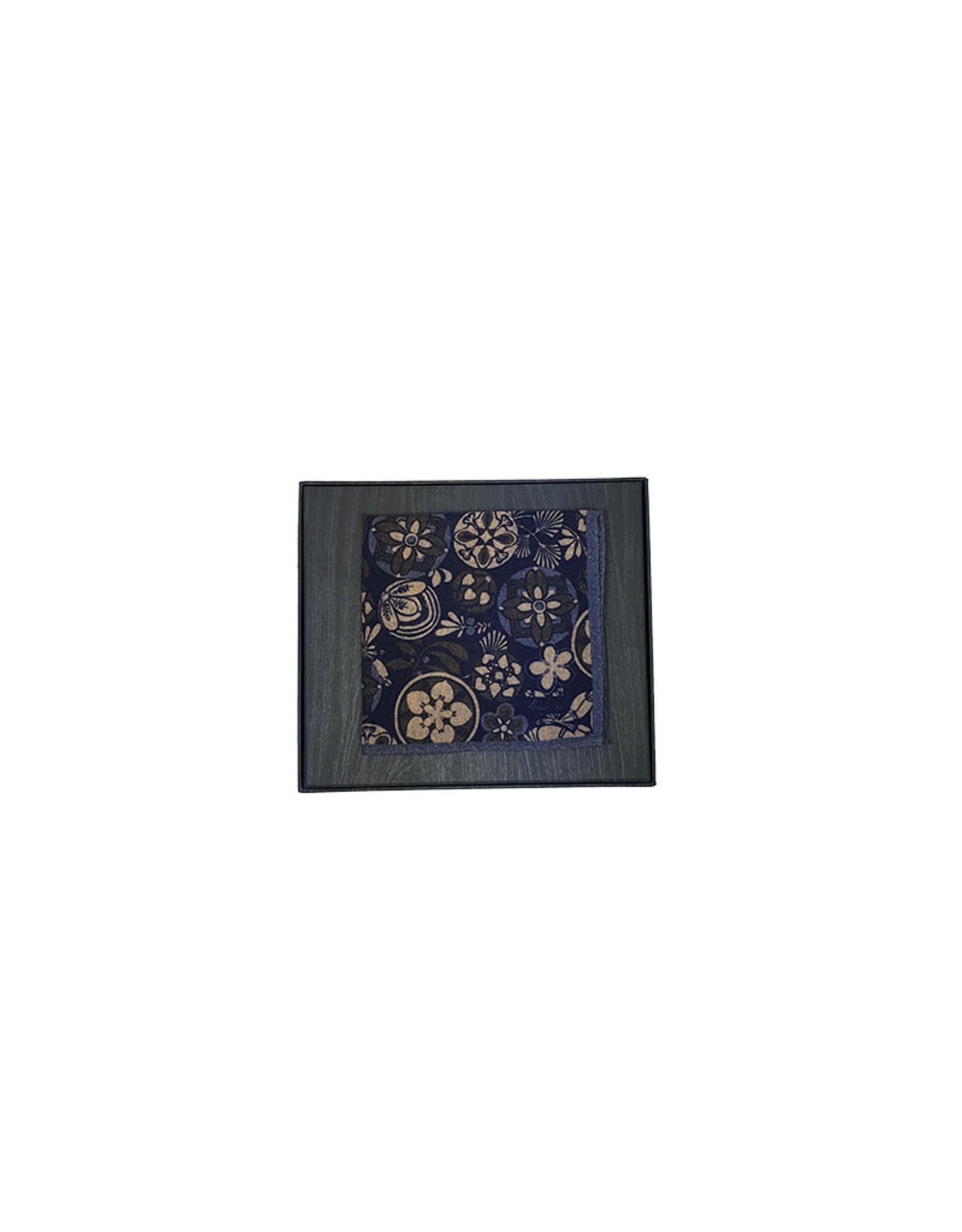 Stenströms Stenströms pochet blauw 923150