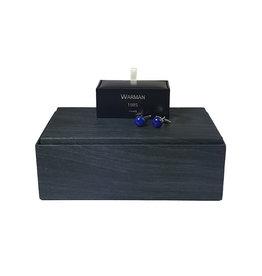 Warman Warman manchetknopen blauw Boutons