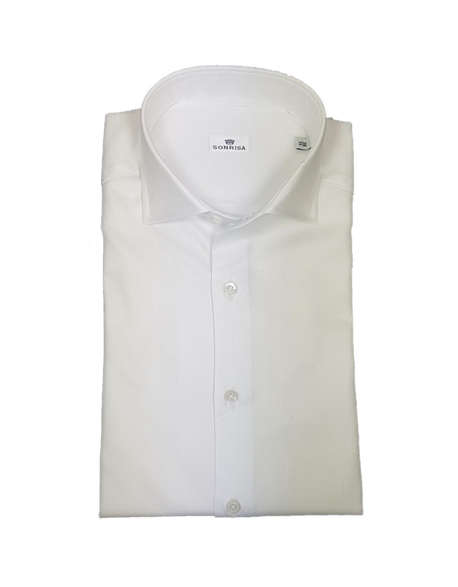Sonrisa Sonrisa hemd wit Fitted body L1003/01