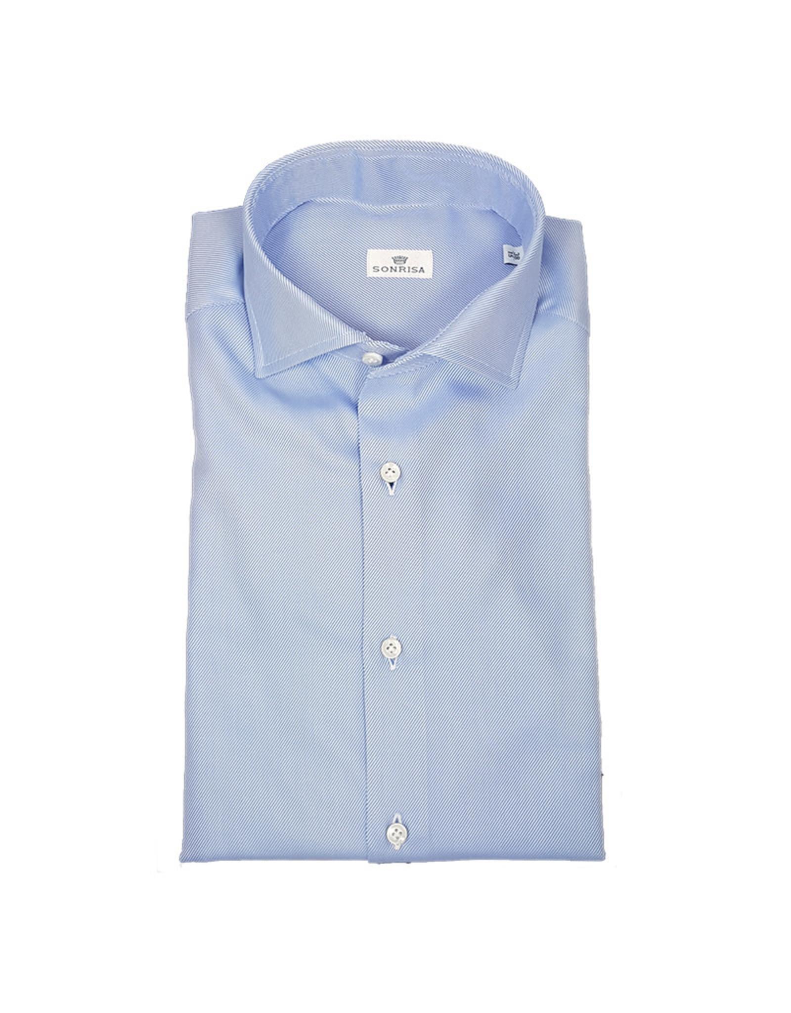 Sonrisa Sonrisa hemd blauw Slimline L1003/02