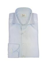 Stenströms Stenströms hemd blauw gestreept Slimline 702111-8021/102