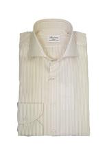 Stenströms Stenströms hemd beige gestreept Slimline 702111-8021/212