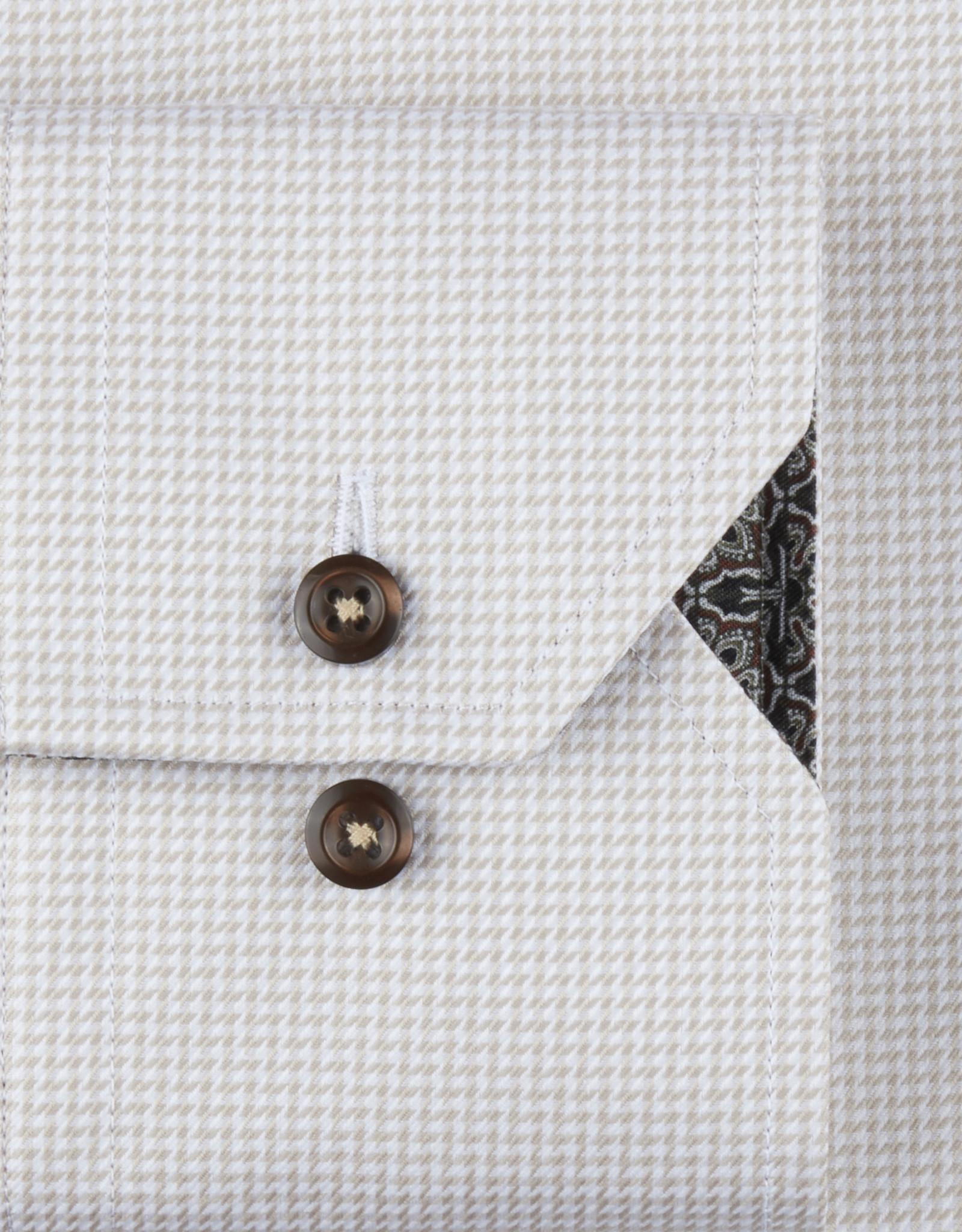 Stenströms Stenströms hemd beige Slimline 784771-2319/210