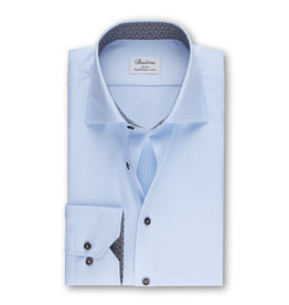 Stenströms Stenströms hemd blauw Fitted body