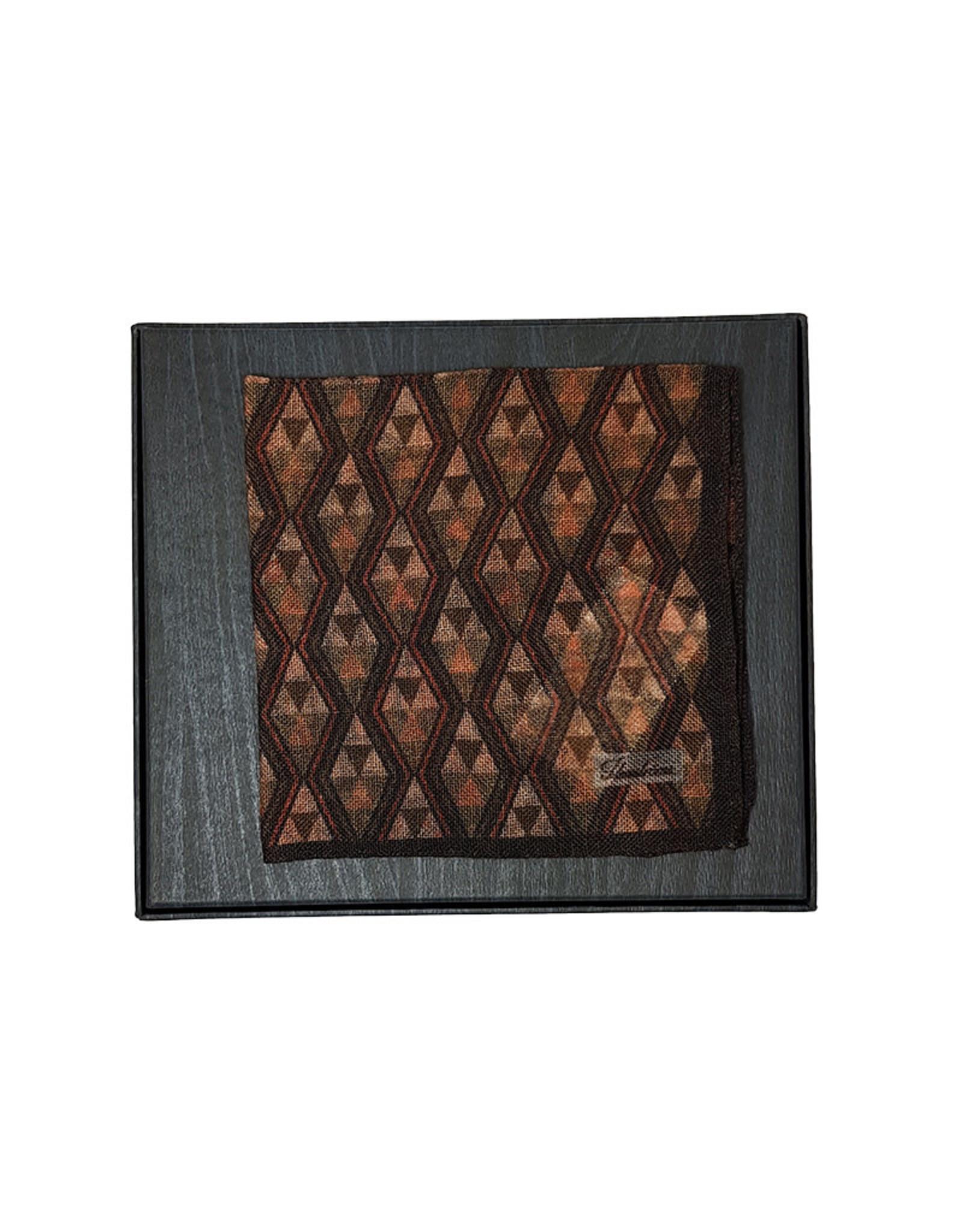 Stenströms Stenströms pochet wol bruin 923195/003