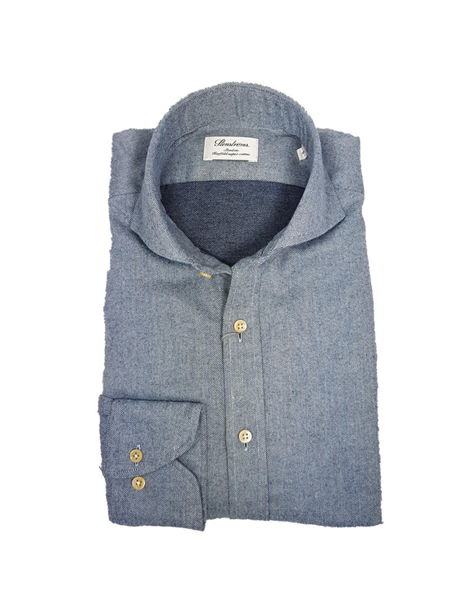 Stenströms Stenströms hemd lichtblauw slimline 712371-7635/100