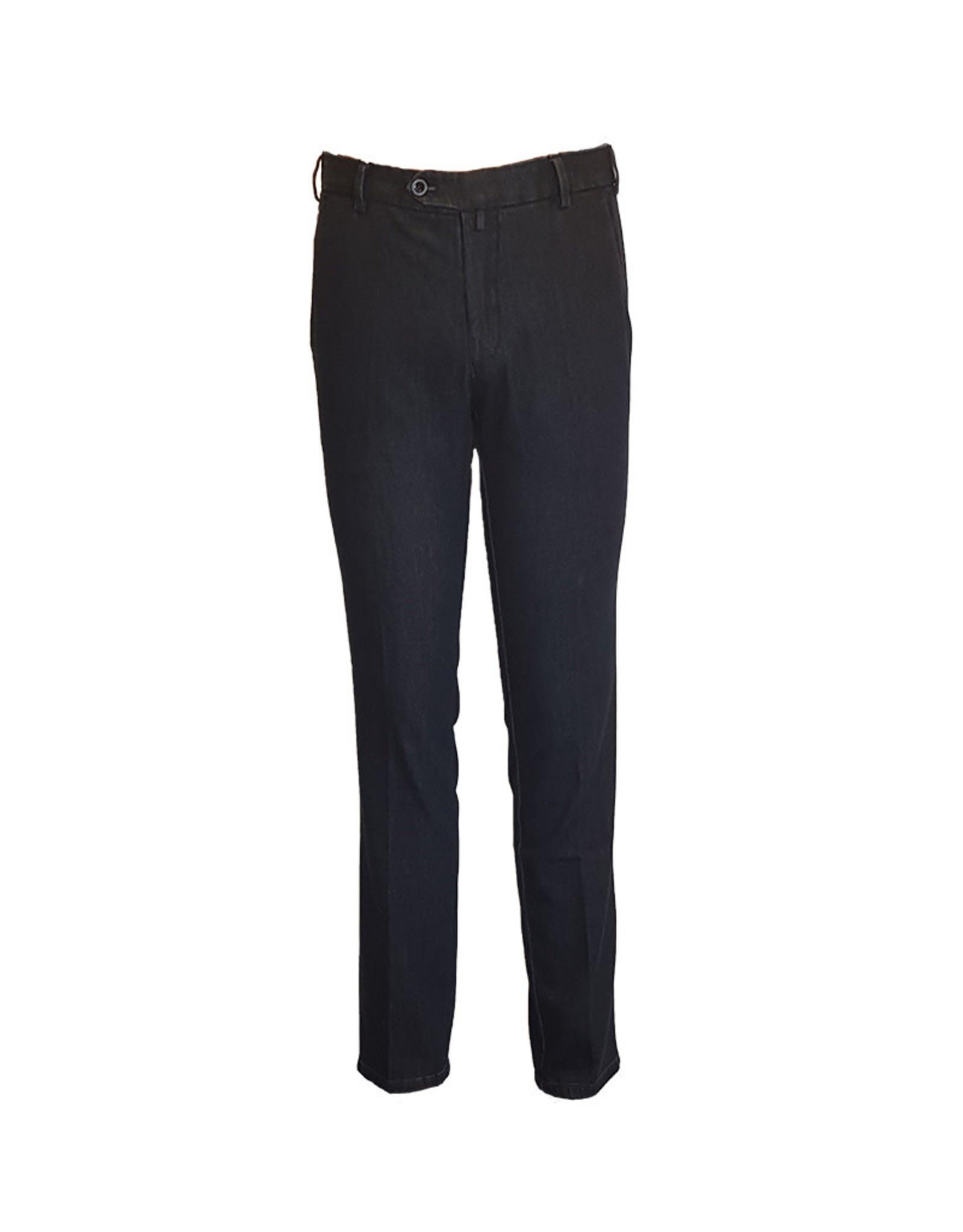 Meyer Exclusive Meyer Exclusive broek jeans blauw Bonn 8540/19