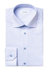 Eton Eton hemd  blauw Slim fit 1767/21