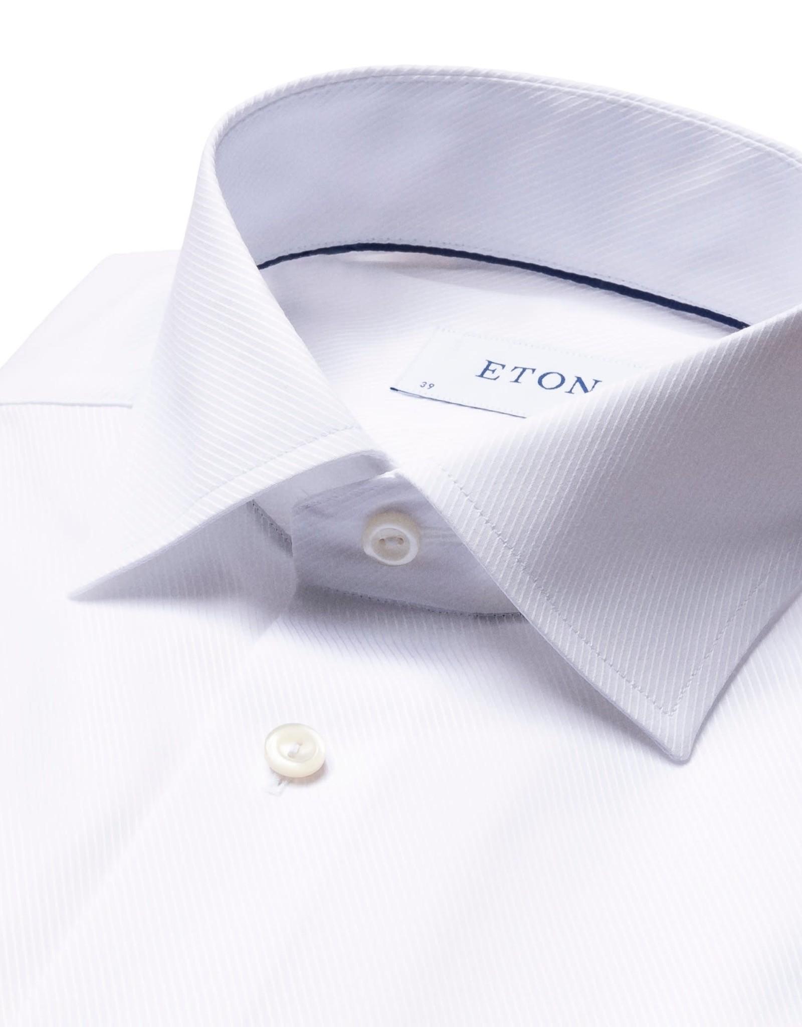 Eton Eton hemd wit Slim fit 1773/01