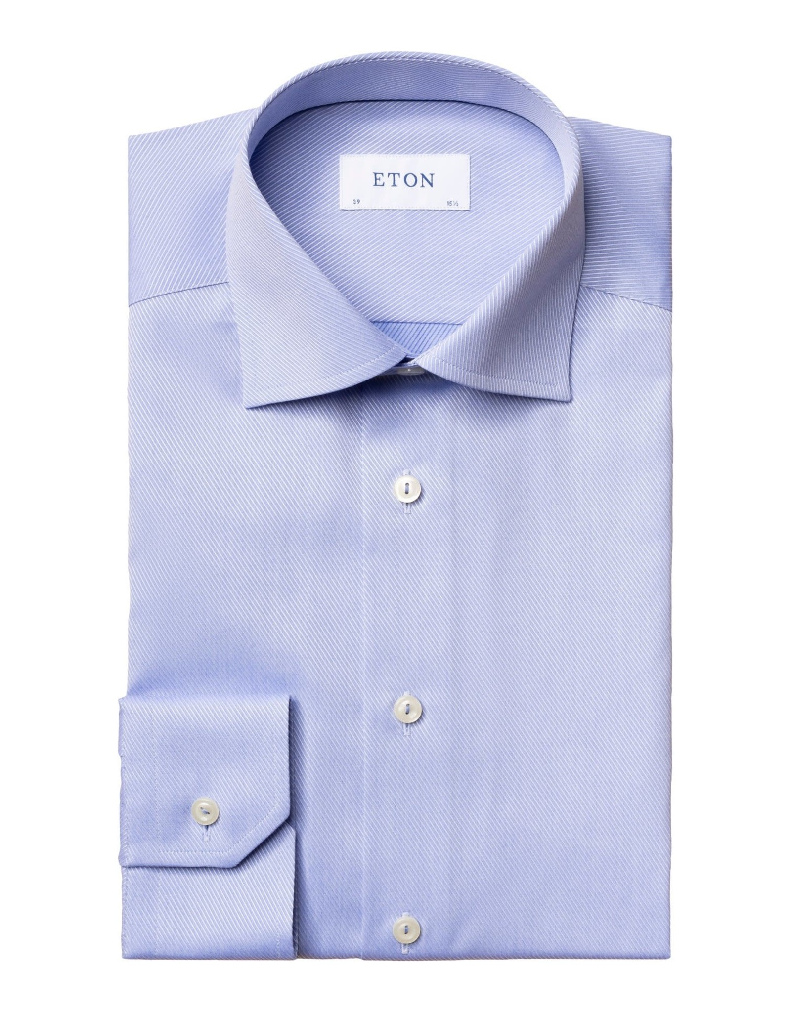 Eton Eton hemd blauw Contemporary 1774/21